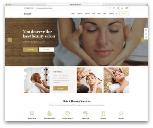 Hair and beauty online digital