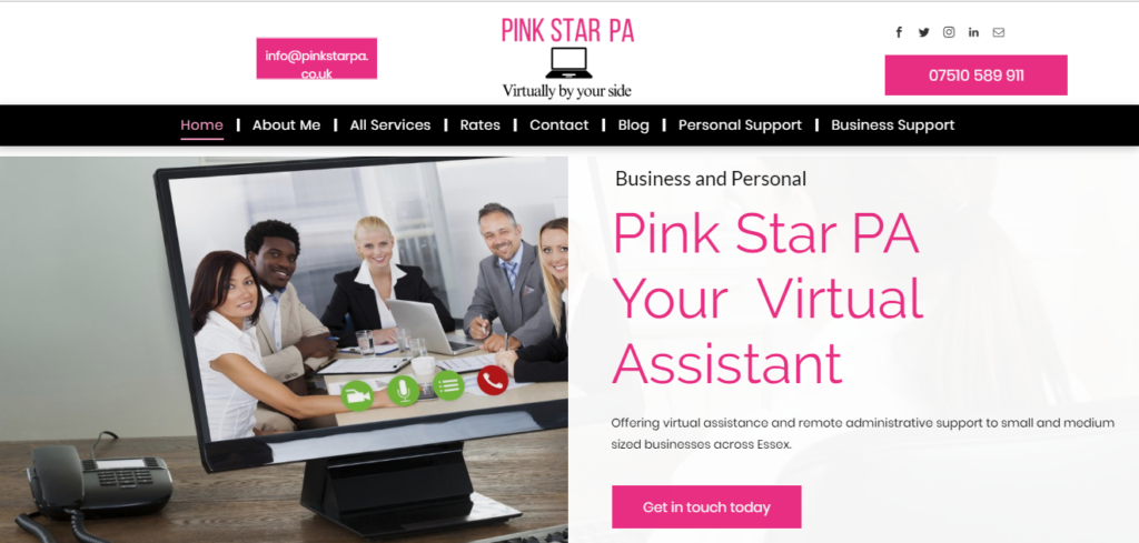 virtual assistant social media manager business